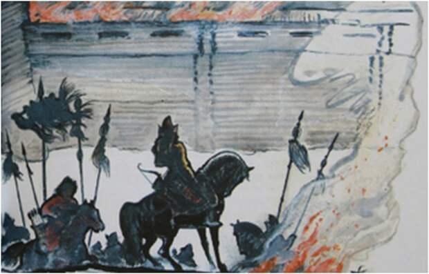 """ТИПИЧНЫЙ"" ТАТАРСКИЙ НАБЕГ (Устюг, 1446г.)"