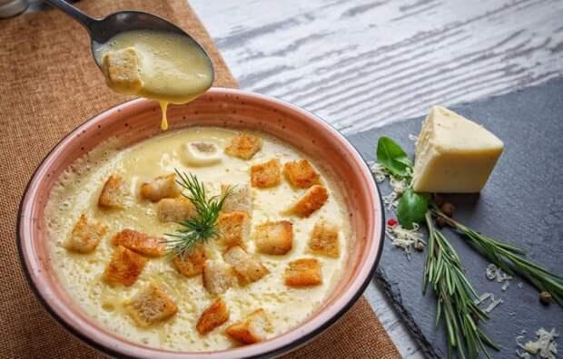 Сырный суп с картофелем. Сытное первое блюдо, которое понравится всем 2