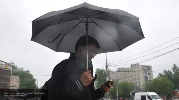 Жителей Кемерово предупредили о дожде с грозами и градом