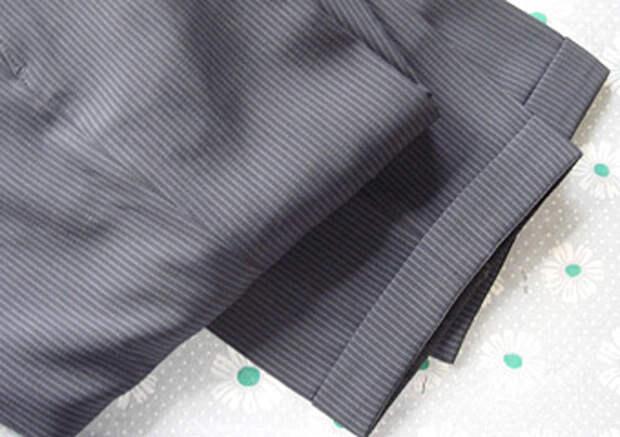 Пять самых популярных способов подгиба низа брюк