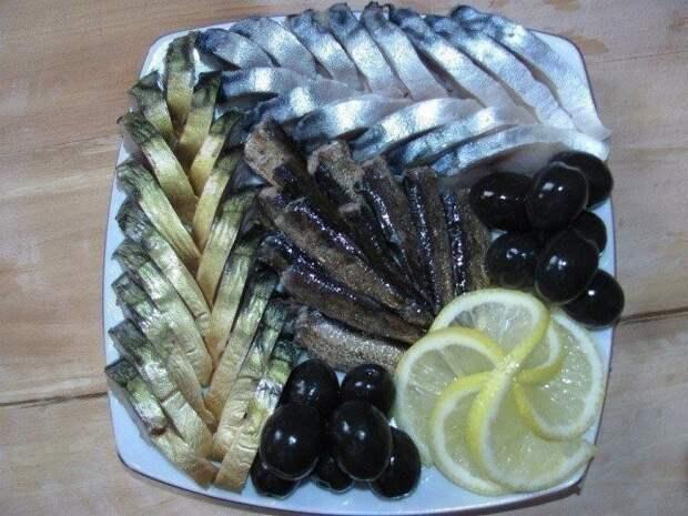 Как красиво подать рыбную нарезку - подборка идей