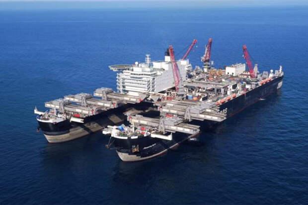 Трубоукладочные суда Allseas покинули Балтику