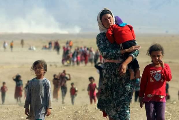 Настал час расплаты: езидки, которые находились всекс-плену утеррористов ИГИЛа, требуют суда над насильниками