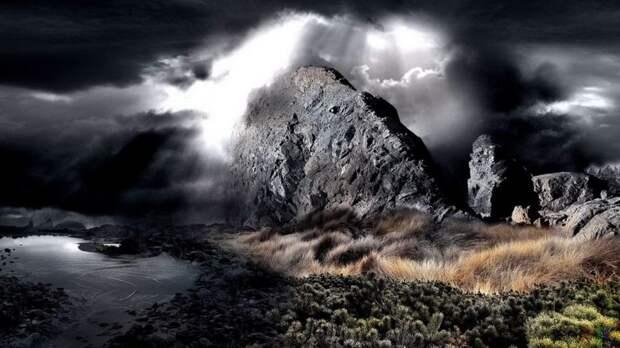 Черный туман горы Каса-Гранде обладает разумом и способен телепортировать людей