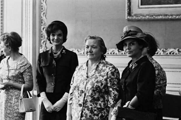 Нина Хрущева и Жаклин Кеннеди, 1960-е