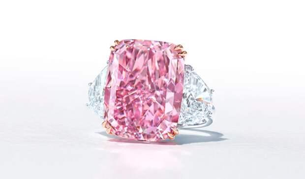 Бриллиант пурпурно-розового цвета «Сакура» ушел с молотка в Гонконге