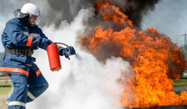 Возгорание газовых емкостей произошло вИрбите