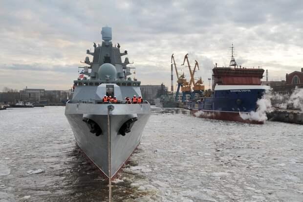 """Фрегат """"Адмирал Головко"""" войдет в состав ВМФ России в 2022 году"""