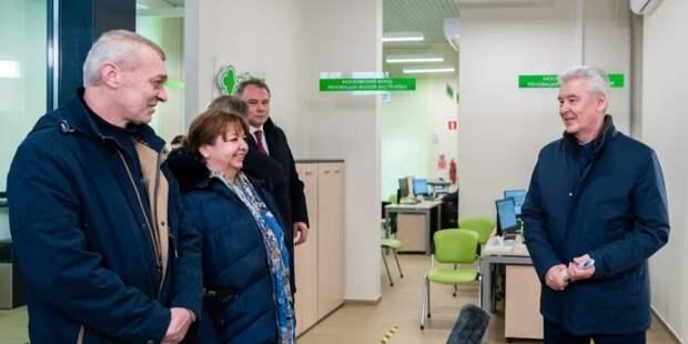 Собянин осмотрел новостройку в Кузьминках, заселяемую по Программе реновации