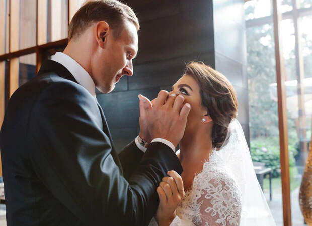 Анна Седокова вышла замуж за Яниса Тимму: фото со свадьбы в Барвихе