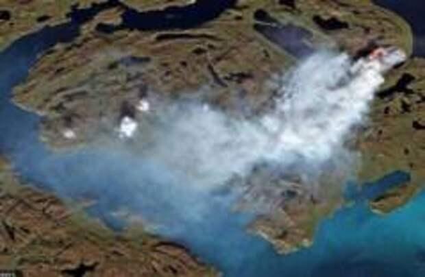Гренландию охватили природные пожары