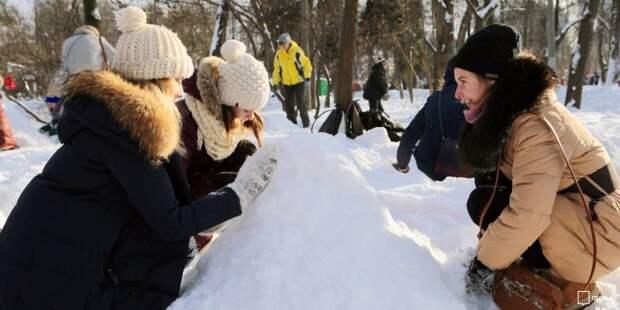 В православном лагере «Витязь» при храме в Черкизове завершилась зимняя смена