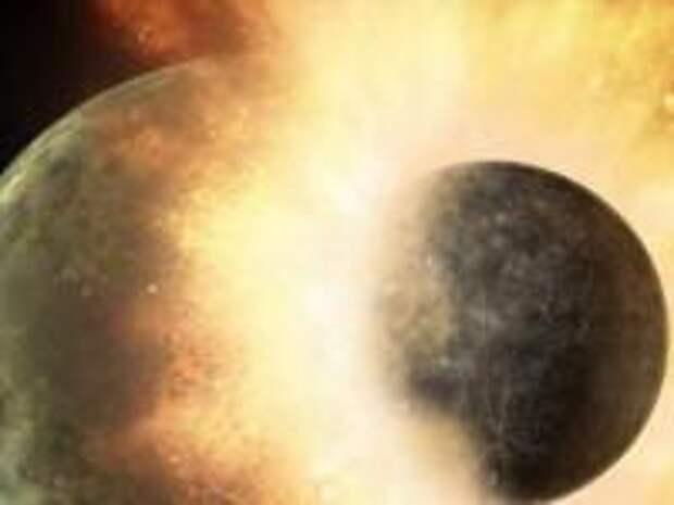 В земной коре обнаружены фрагменты планеты Тейи в миллионы раз больше Эвереста
