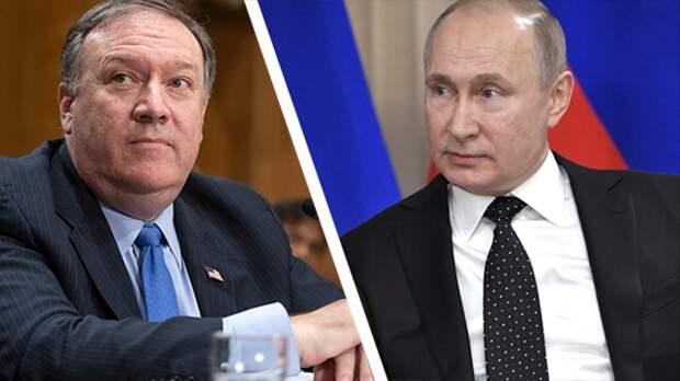 Будет мощно: журналисты узнали, что обсудят госсекретарь США Помпео с президентом Путиным в Сочи