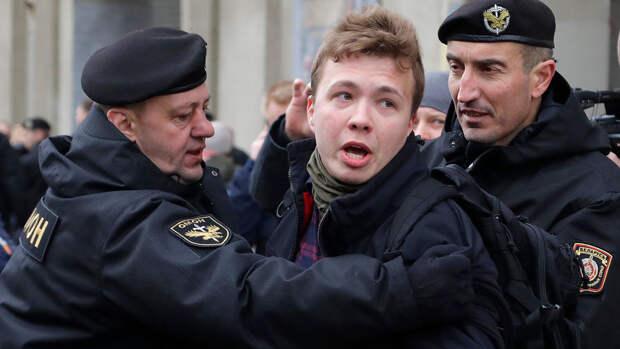 В Белоруссии задержали основателя Telegram-канала NEXTA Протасевича