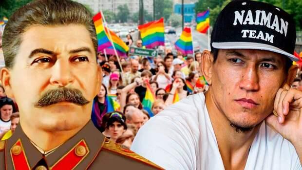 «Не хватает Сталина. При нем ЛГБТ бы не было». Боец ММА Хамитов дружит с Конором и Хабибом и не верит в коронавирус