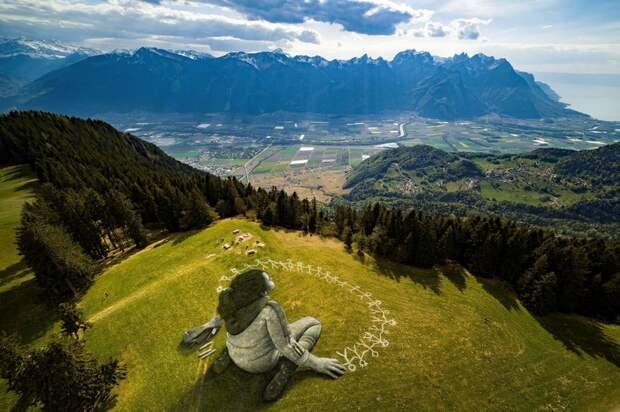 15 необычных красот нашего мира, которые можно увидеть только с высоты
