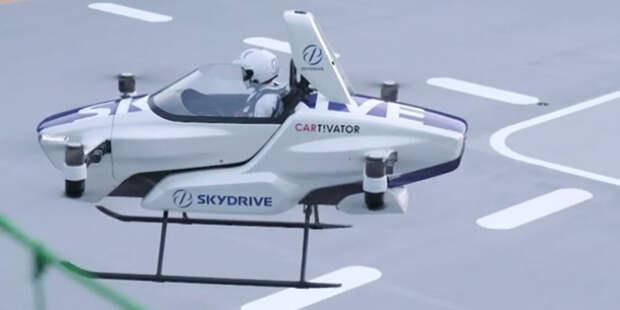 Volkswagen начал испытания летающих транспортных средств