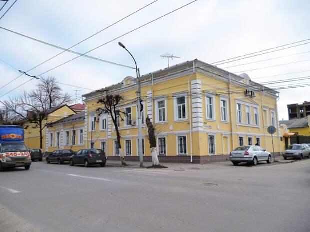 Дом купцов Шульгиных. В настоящее время дом занимает Следственное управление Следственного комитета Рязанской области при Прокуратуре РФ