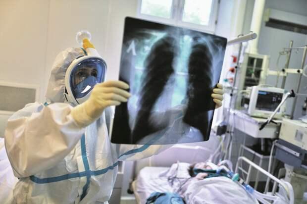 Все пневмонии и другие сомнительные случаи вмае записали на счёт коронавируса/Агентство «Москва»
