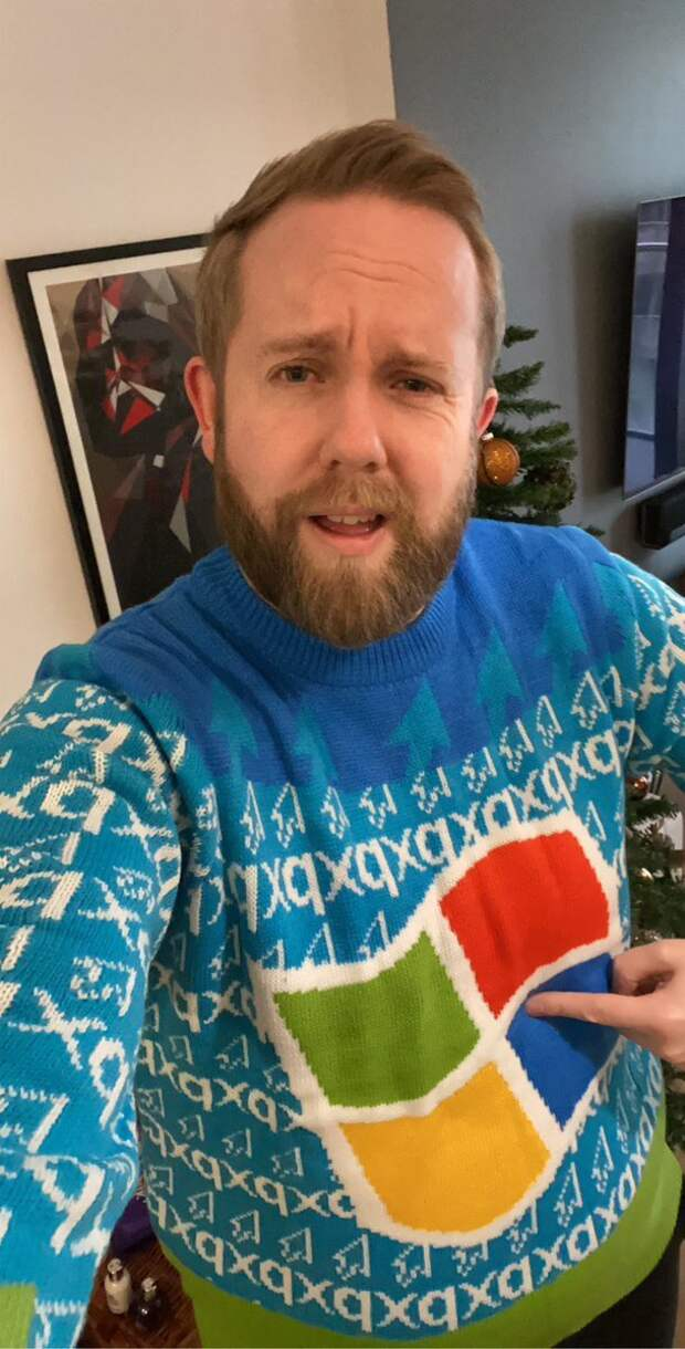 Ugly sweaters by Microsoft