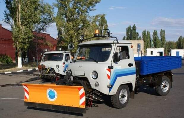 УАЗ - универсальный городской трактор по имени «Умка»
