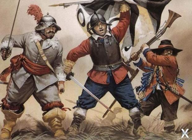 Новая армия Оливера Кромвеля. В бою о...