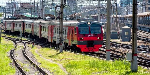 С 11 по 13 мая изменится расписание электричек Рижского направления