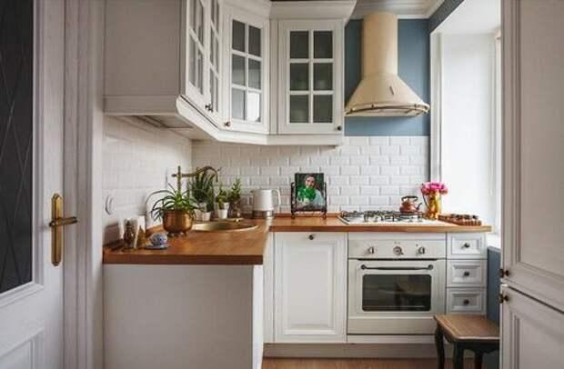 Как использовать пространство маленькой кухни. Советы опытного дизайнера