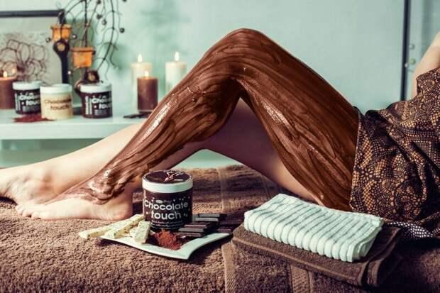 Шоколадное обертывание дома: польза, рецепты