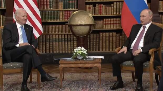 Американские республиканцы предпочитают Путина Байдену