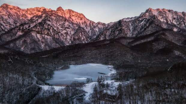 Снежная сказка: невероятно красивая зима вЯпонии