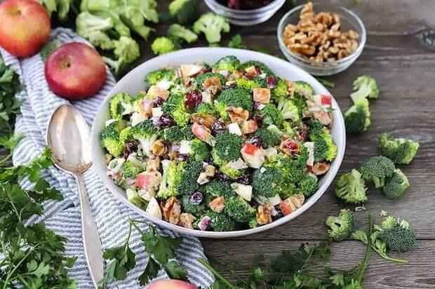 Необычный салат. \ Фото: deztop.net.
