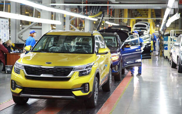 Производство Kia Seltos началось в России