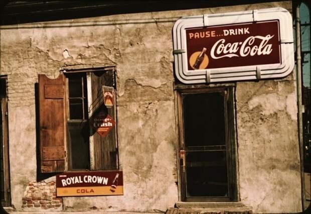Загородный магазин в Натчезе, штат Миссисипи, август 1940 года
