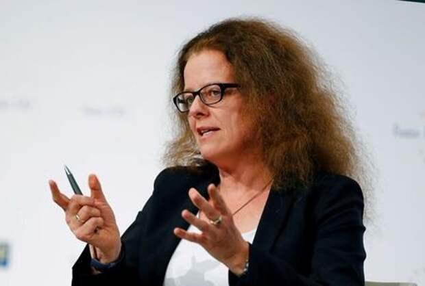 Член исполнительного совета ЕЦБ Изабель Шнабель во Франкфурте, германия, 22 ноября 2019 года. REUTERS/Ralph Orlowski