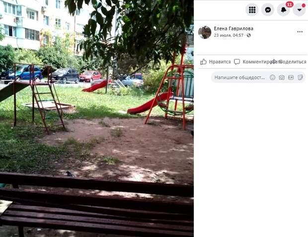 Детскую площадку на Петрозаводской поменяют в следующем году — управа