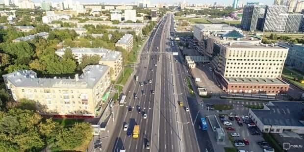 Дептранс рассмотрит предложение жителей о повышении скоростного режима на Волоколамке