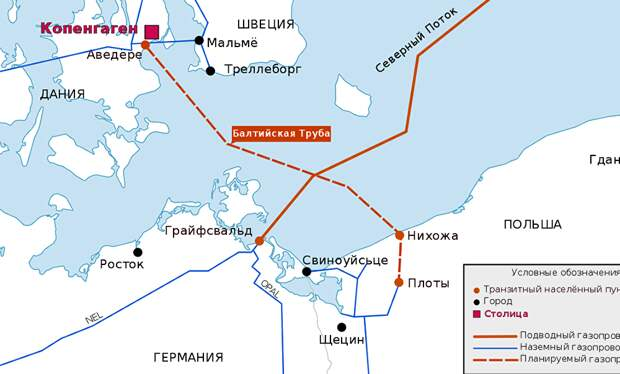 Nowa Konfederacja: газопровод Baltic Pipe не имеет смысла