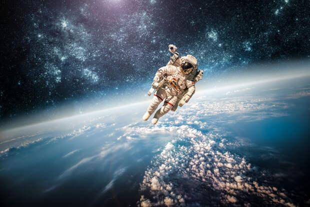 В космосе обнаружили пустой пакет