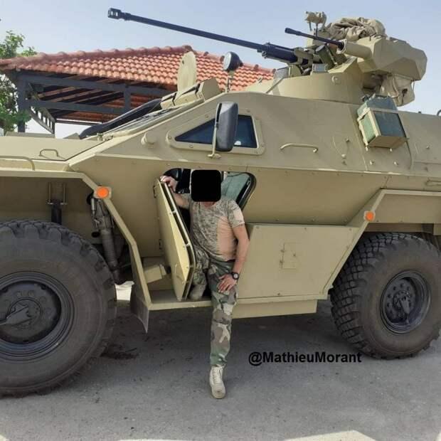 В Сирии замечена самая тяжеловооруженная модификация бронемашины КамАЗ-43269 «Выстрел»