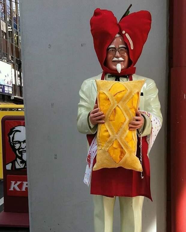 Японский KFC жизнь, подборка, странность, фотография, фотомир, явление, япония