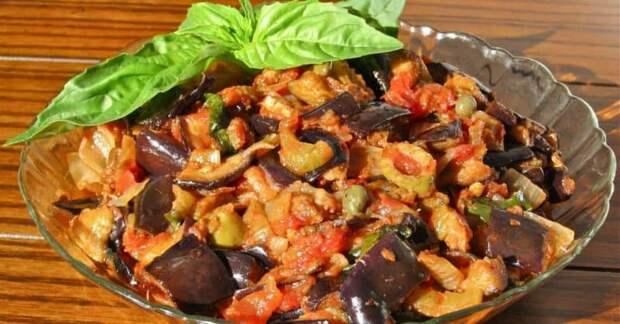 Баклажаны по-кавказски. Овощи получаются невероятно вкусными 2