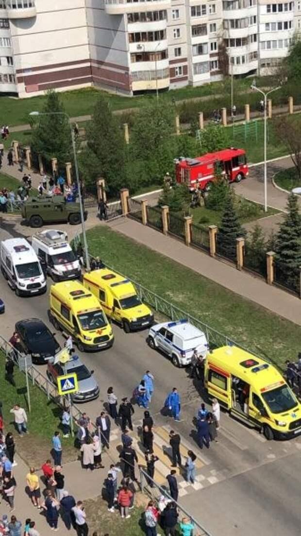Стрельба вгимназии вКазани: предварительно 10 погибших, 12 пострадавших