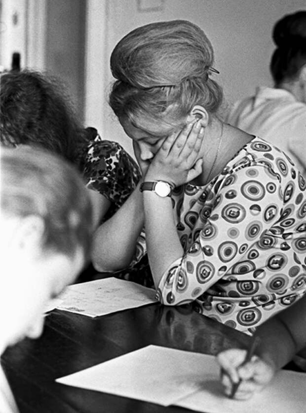 Актриса Ирина Скобцева, 1958 год