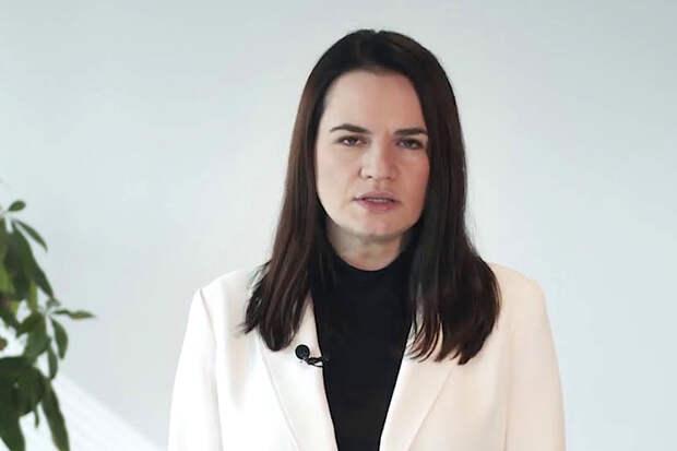 Тихановская сравнила ситуацию в Белоруссии с Крымом