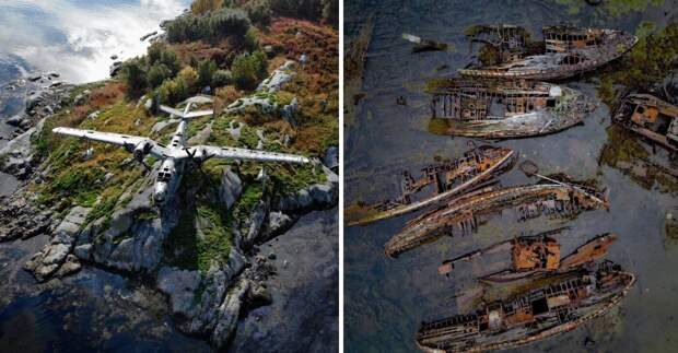 Танки, поезда и самолеты: 15 фото списанной военной техники, гниющей под открытым небом