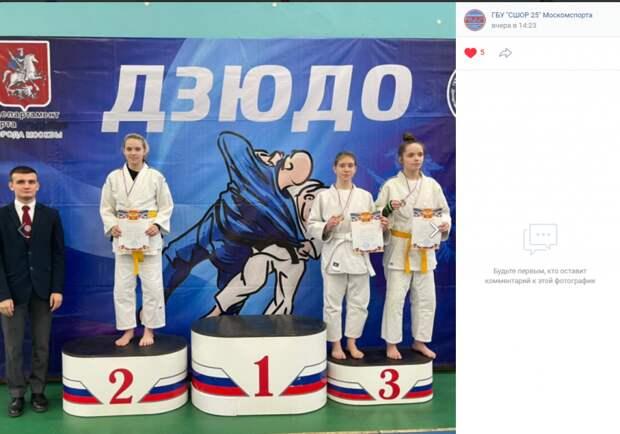 Юные дзюдоисты из Савеловского хорошо выступили на городском турнире
