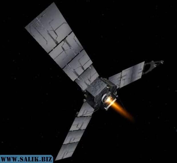 «Джуно» обнаружил возле Юпитера древнюю межпланетную станцию?