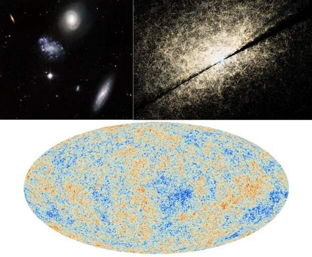 Видимая чать Вселенной